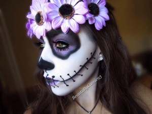 halloween makeup idea sugar skull beauty by cassie. Black Bedroom Furniture Sets. Home Design Ideas